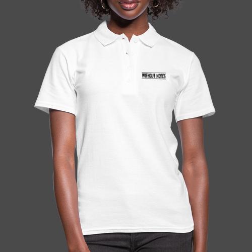 Without Notes Schriftzug Nummer 1 - Frauen Polo Shirt