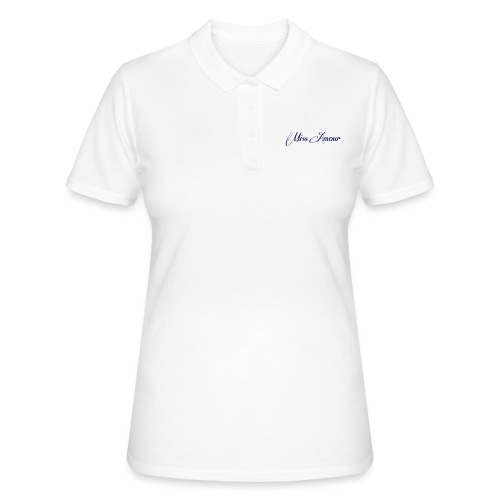 miss amour bara texten - Women's Polo Shirt