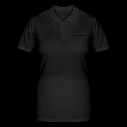 EHRENBRUDER-Black - Frauen Polo Shirt