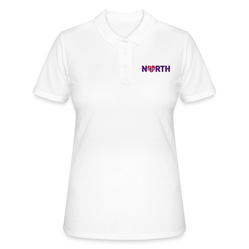 Nord-Norge på engelsk - plagget.no - Women's Polo Shirt