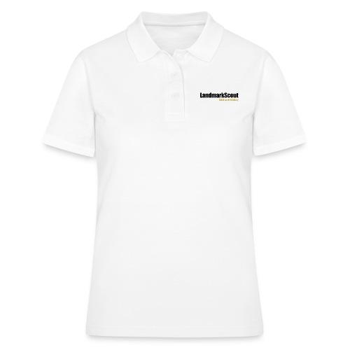 Tshirt Yellow Back logo 2013 png - Women's Polo Shirt