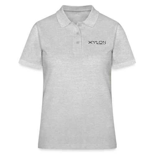 Xylon Handcrafted Guitars (plain logo in black) - Women's Polo Shirt