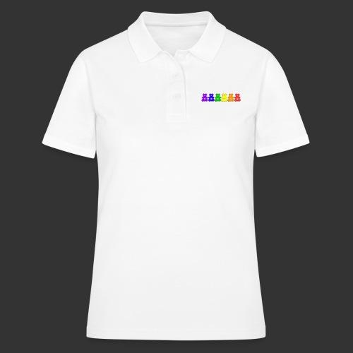 Bärenlust Regenbogen Bären-Reihe - Frauen Polo Shirt