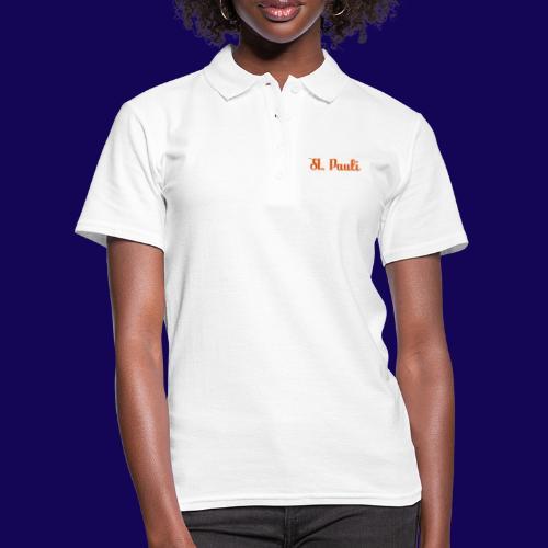 St. Pauli Logotype: Dein Kieztour Begleiter - Frauen Polo Shirt