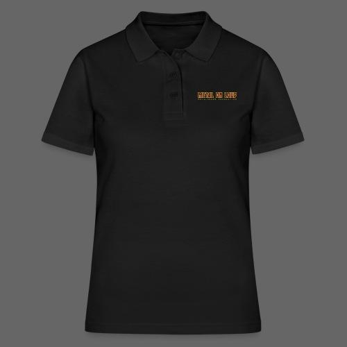 MOL Letter Logo Randy - Women's Polo Shirt
