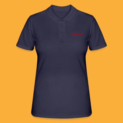 DJATODOCOLOR LOGO ROJO - Women's Polo Shirt