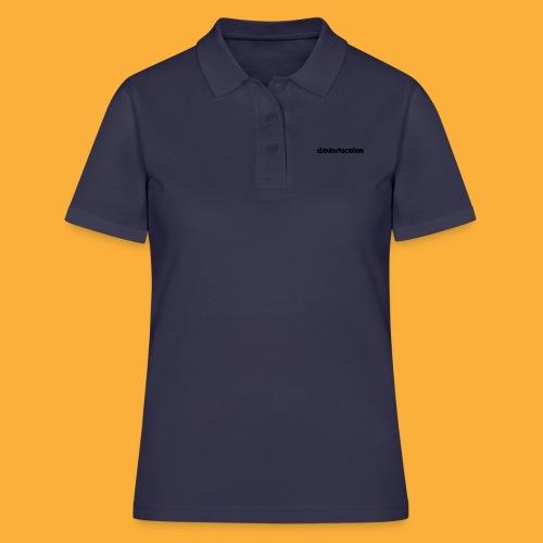 DJATODOCOLOR LOGO NEGRO - Women's Polo Shirt
