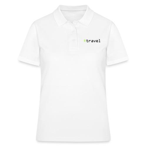 #travel - Frauen Polo Shirt