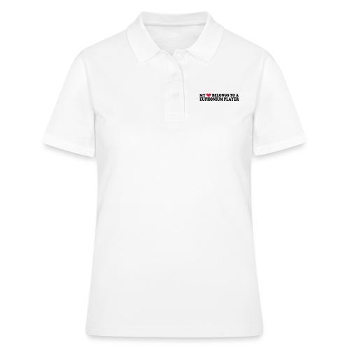MY HEART BELONGS TO A EUPHONIUM PLAYER - Poloskjorte for kvinner
