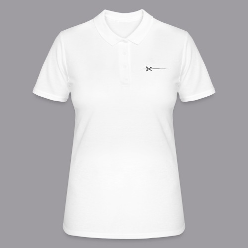 Bitte hier schneiden! - Frauen Polo Shirt
