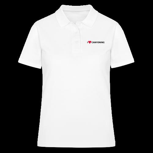 iLoveCanyoning - Frauen Polo Shirt
