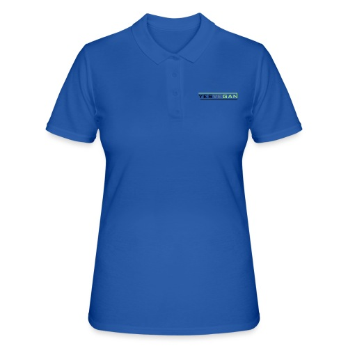 YESVEGAN - Frauen Polo Shirt