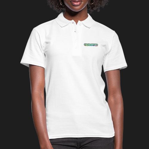 TiltShifted Logo on Black - Naisten pikeepaita