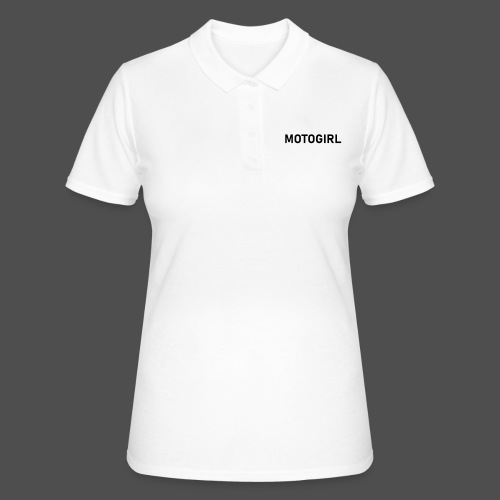 motogirl - Frauen Polo Shirt