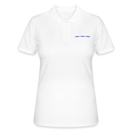 heben tragen stellen - Frauen Polo Shirt