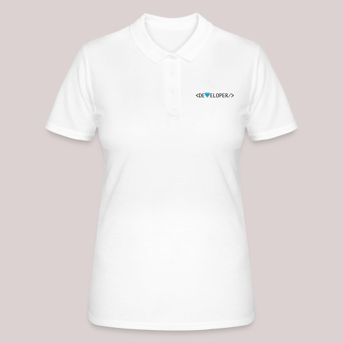 Developer | Computer | Nerd | Hipster | Geek - Frauen Polo Shirt