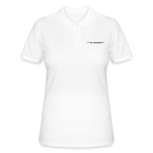 No Comment (CPP) - Women's Polo Shirt