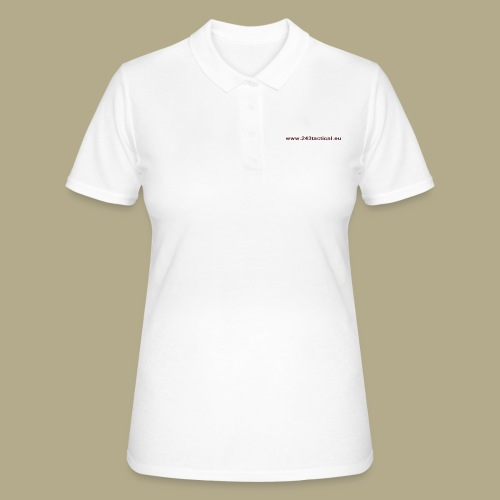 .243 Tactical Website - Women's Polo Shirt