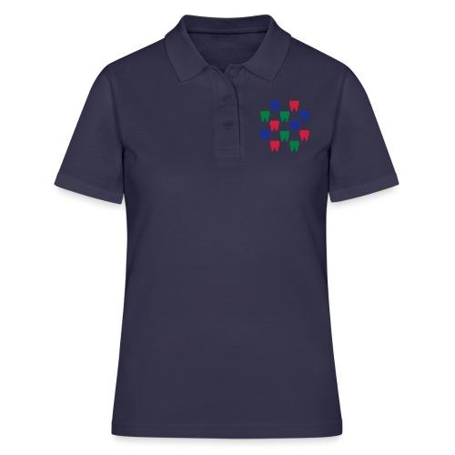 Zähne - Frauen Polo Shirt