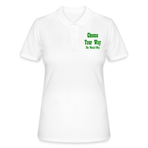 Choose Your Way Green - Women's Polo Shirt