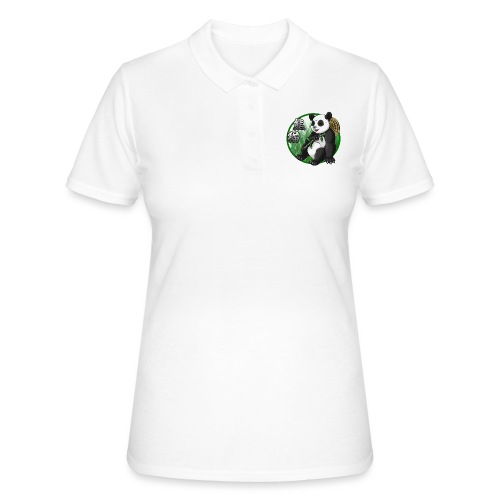 Panda & Bamboo - Women's Polo Shirt