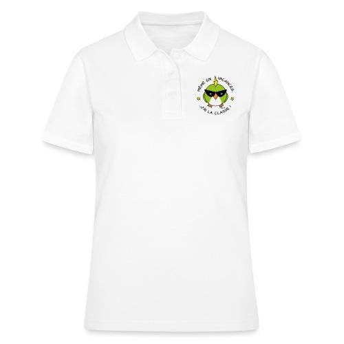 Oiseau Lunettes, Cadeau Instit, J'ai la Classe - Women's Polo Shirt