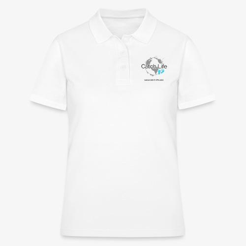 Catch Life Logo - Women's Polo Shirt