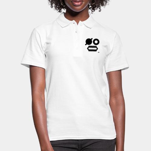 A-054 Smiley Pirat - Frauen Polo Shirt
