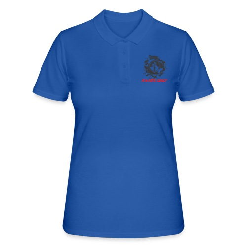 Kante Only (weiß) - Frauen Polo Shirt
