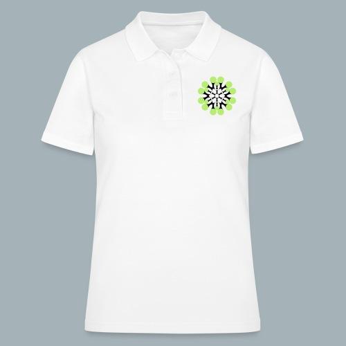 Floral Shirt Long Sleeved - Women's Polo Shirt