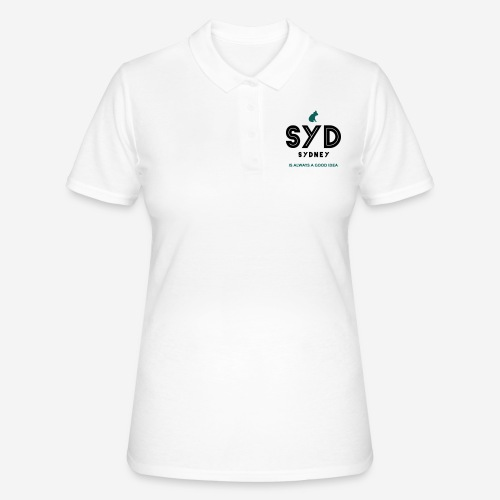 SYDNEY E' SEMPRE UNA BUONA IDEA! - Women's Polo Shirt