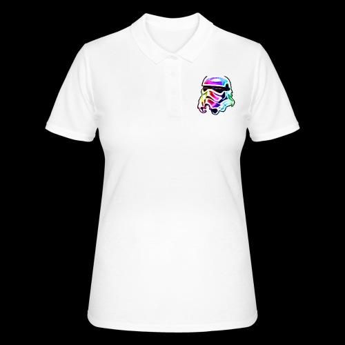 Rainbow Stormtrooper - Women's Polo Shirt