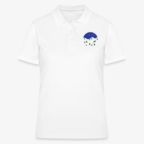 boule Noël bleue - Women's Polo Shirt