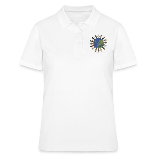 Weltfrieden - Frauen Polo Shirt
