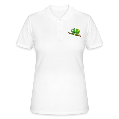 chamaeleon - Frauen Polo Shirt
