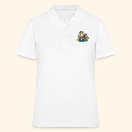 Gorilla Jungle Hiphop - Women's Polo Shirt