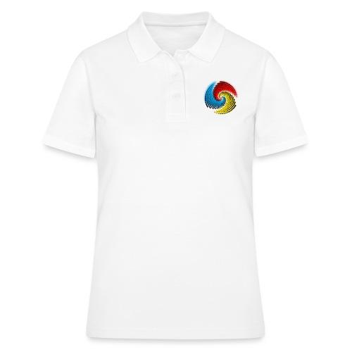 Farbspirale - Frauen Polo Shirt