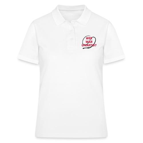 Wer war unartig? Peitsche - Frauen Polo Shirt
