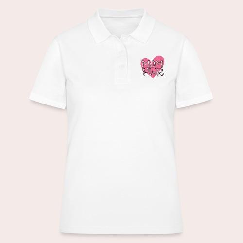 MOM PWR - Frauen Polo Shirt