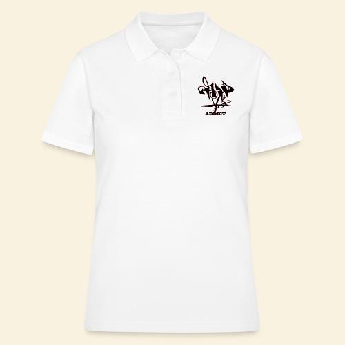 hip hop addict - Women's Polo Shirt
