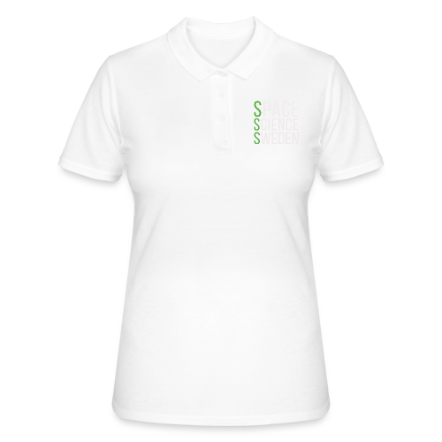 Space Science Sweden - vit - Women's Polo Shirt