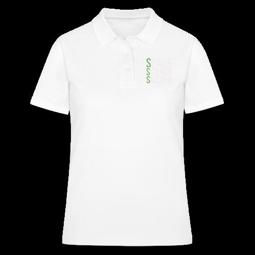 Space Science Sweden - vit - Women's Polo Shirt