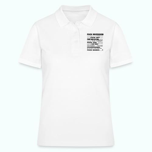 f'ck 1702410_133337147_IM - Frauen Polo Shirt
