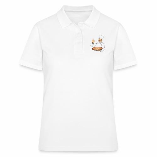 Pizza Bäcker - Frauen Polo Shirt