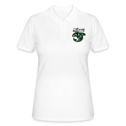 Just KEEP Swimming - Frauen Polo Shirt