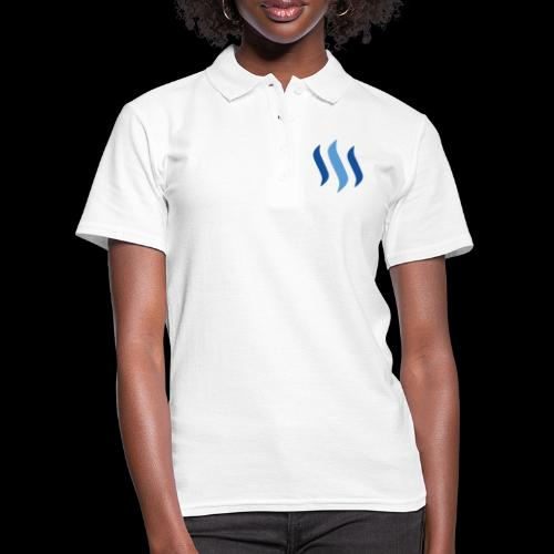 steem logo - Frauen Polo Shirt