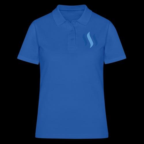 steem logo - Frauen Polo Shirt