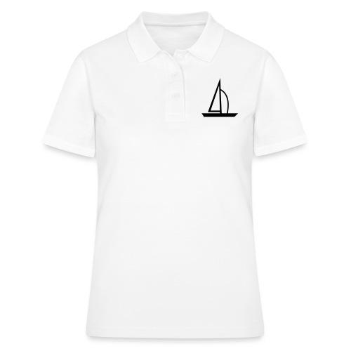 Segelboot - Frauen Polo Shirt