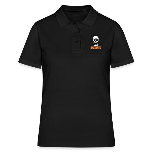 Rattled Spooky Halloween Skeleton Meme - Women's Polo Shirt