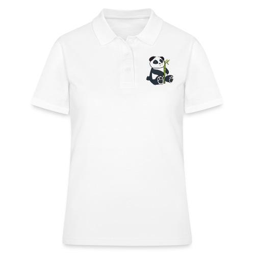 Oso Panda con Bamboo - Women's Polo Shirt